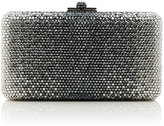 Judith Leiber Couture Airstream Large Ombre Clutch Bag, Silver Multi