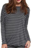 Eberjey Ticking Stripes Tee