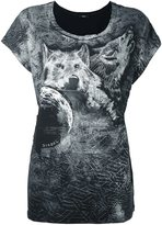 Diesel wolf print T-shirt