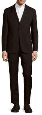 Armani Collezioni Solid Virgin Wool Suit