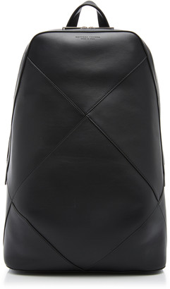 Bottega Veneta Zaino Paneled Leather Backpack