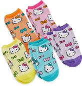 Hello Kitty 5-pk. No-Show Socks - Girls
