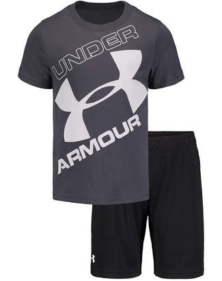 Under Armour Little Boys 2-Pc. T-Shirt & Shorts Set