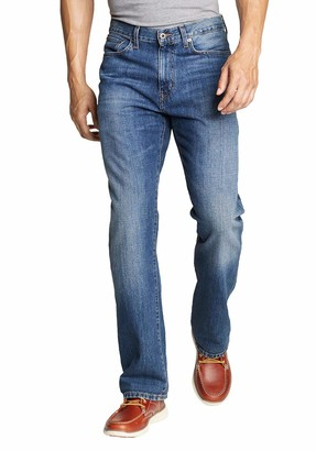 Eddie Bauer mens Authentic Jeans - Relaxed Fit - Baumwolle Straight Leg Straight Jeans