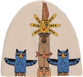 Mini Rodini Multi-Coloured Organic Cotton Totem Beanie