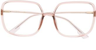 Christian Dior So Stellaire square glasses