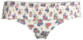 Tory Burch Costa Printed Hipster Bikini Bottom