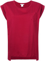 Stefano Mortari asymmetric hem top - women - Cotton - 40