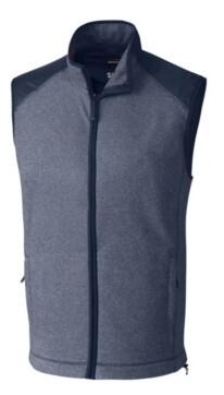 Cutter & Buck Cutter and Buck Men's Big and Tall Cedar Park Full Zip Vest