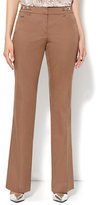 New York & Co. 7th Avenue Design Studio Pant - Signature - Universal Fit - Bootcut - Cotton - Tall