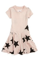 Nununu Infant Girl's Star Print T-Shirt Dress