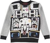 Molo Youth Boy's Maz Sweatshirt - Controllers