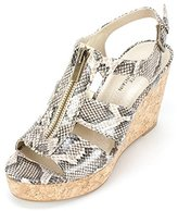 White Mountain Women's Dharma Wedge Sandal