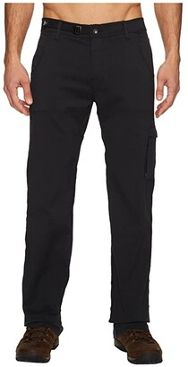 Prana Stretch Zion Pant (Black) Men's Casual Pants