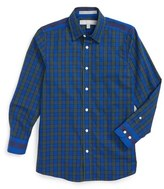 Nordstrom Boy's Plaid Cotton Dress Shirt