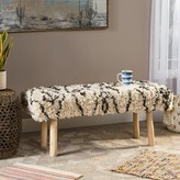 Bungalow Rose Aida Upholstered Bench