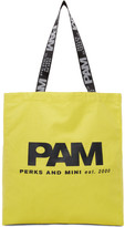 Perks And Mini SSENSE Exclusive Yellow Friends Large Tote