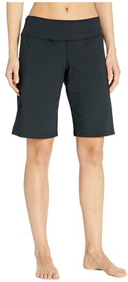 Brooks Greenlight Relaxed 11 Shorts (Black) Women's Shorts