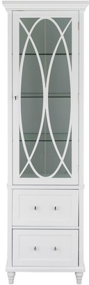 """Elegant Home Fashions 60"""" H Florence Linen Tower"""