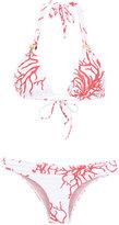 BRIGITTE printed bikini set - women - Polyamide/Spandex/Elastane - PP