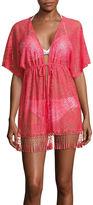 Arizona Solid Chiffon Swimsuit Cover-Up Dress-Juniors