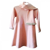 Christian Dior Pink Wool Dress