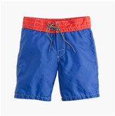 J.Crew Boys' Birdwell® for crewcuts contrast waistband board short
