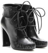 Tom Ford Santa Fe leather ankle boots