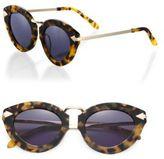 Karen Walker Lunar Flowerpatch 51MM Cat's-Eye Sunglasses