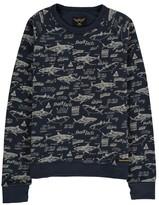 Finger In The Nose Hank Shark Sweatshirt