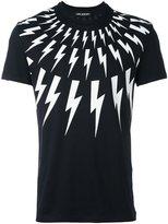 Neil Barrett 'Thunder' T-shirt - men - Cotton - S
