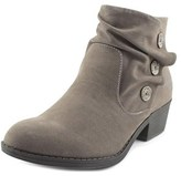 Blowfish Sava Women Round Toe Leather Bootie.