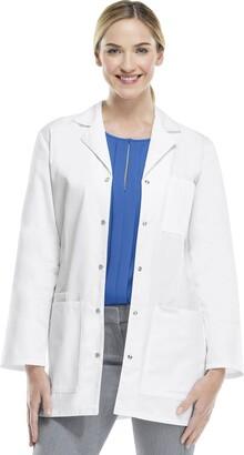 Cherokee Women's 32 Inch Snap Front Lab Coat