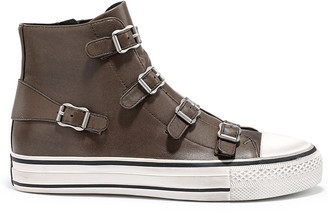 Ash Virgin Leather Buckle Trainers Boot - Fango - 36 (3)