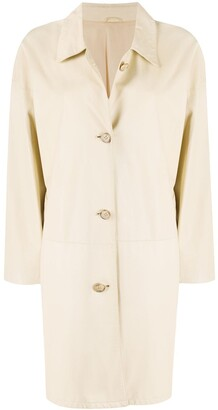 A.N.G.E.L.O. Vintage Cult 2000s Buttoned Thigh-Length Coat