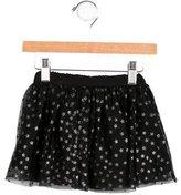 Stella McCartney Girls' Tulle Star-Print Skirt