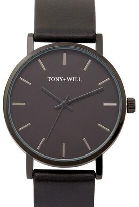 TONY+WILL Small Classic Black TWT004D Watch