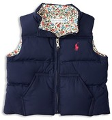 Ralph Lauren Infant Girls' Down Puffer Vest - Sizes 6-24 Months