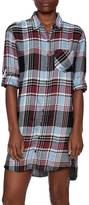 Sneak Peek Plaid Shirt Dress