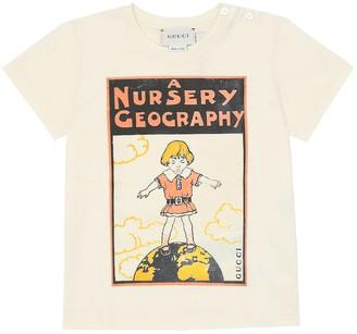Gucci Kids Baby printed cotton T-shirt