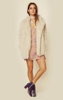 Jet john eshaya teddy fur coat