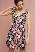 Donna Morgan Flora Pleated Dress