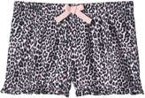 Joe Fresh Kid Girls' Print Sleep Shorts, JF Perennial Pink (Size S)