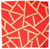 Kenneth Jay Lane Printed Silk Scarf