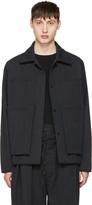 Craig Green Black Quilted Workwear Jacket