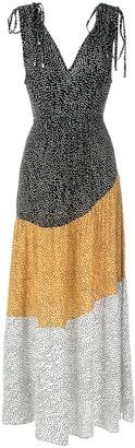 Olympiah Jarosse printed gown