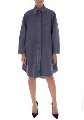 MM6 MAISON MARGIELA A-Line Denim Coat