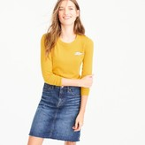 J.Crew Tippi sweater with tortoise critter