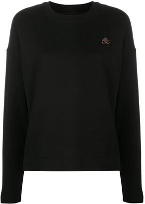 Moose Knuckles Logo Embroidered Sweatshirt