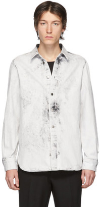 Stella McCartney White Denim Nicolas Shirt